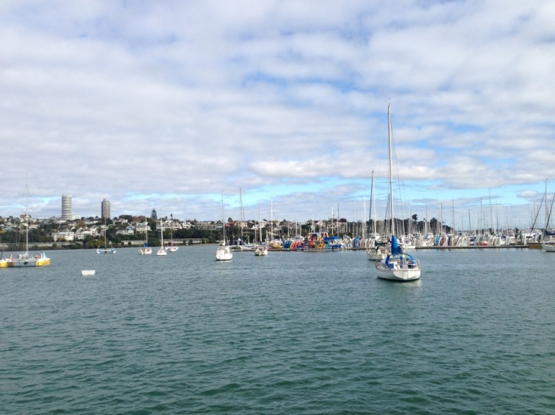 Auckland City Harbor